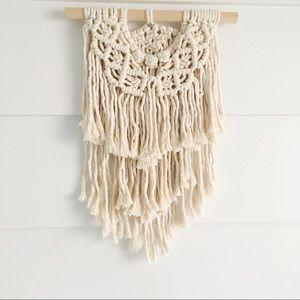 Other - Handmade Macrame Wall Hanging